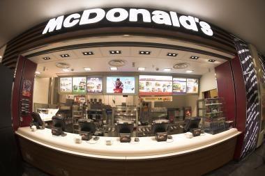 """McDonald's"" įsiliejo į didelę"