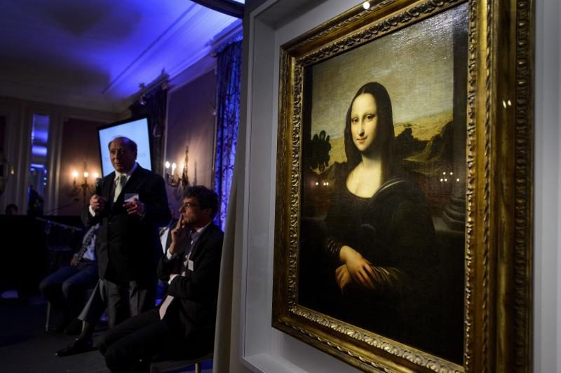 "Ankstyvoji L.da Vinci paveikslo ""Mona Liza"" versija kelia abejonių"