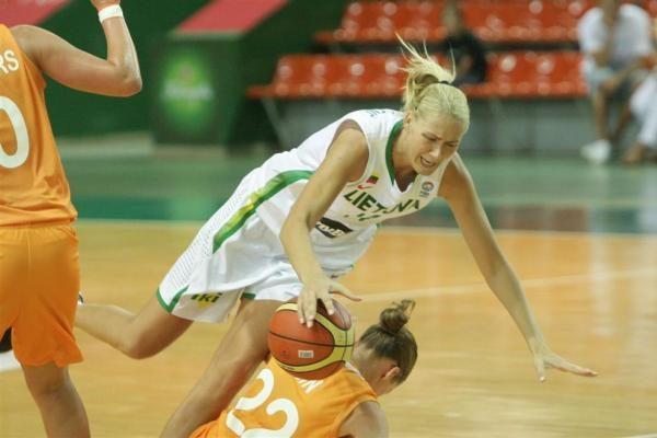 Lietuvos moterų krepšinio rinktinė iškovojo pergalę svečiuose