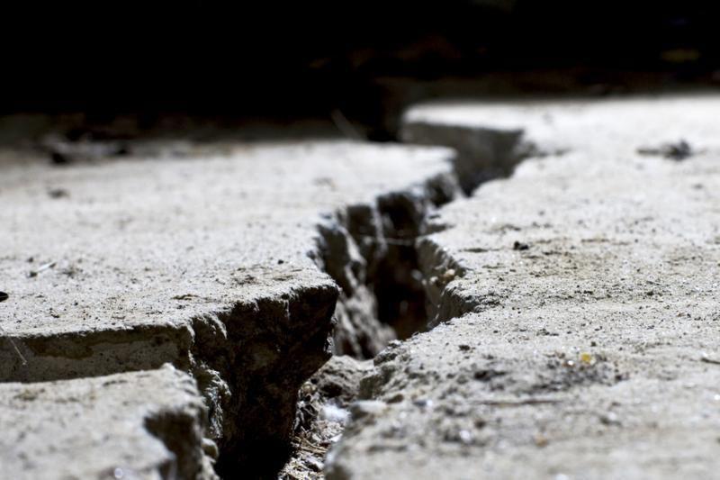 Taivane per galingą žemės drebėjimą kilo panika