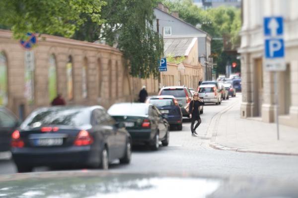 Per elektromobilių šventę bus ribojamas eismas senamiestyje