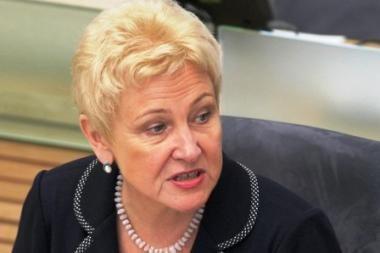 Seimo pirmininkė: formuojant koaliciją buvo padaryta klaidų