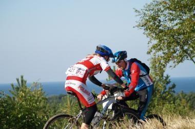 Orientavimosi dviračiais čempionate – lietuvių pergalės
