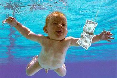 """Ką dabar veikia ant """"Nirvana"""" albumo viršelio pasirodęs kūdikis?"""