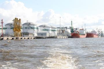 Vėluoja naujojo Klaipėdos uosto terminalo statybos
