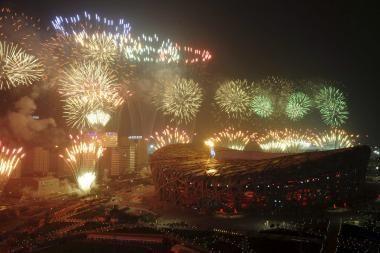 Pekine uždaromos olimpinės žaidynės