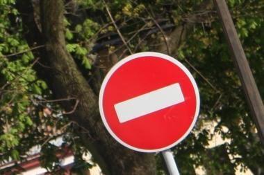 Šv. Dvasios gatvėje eismas bus draudžiamas beveik metus