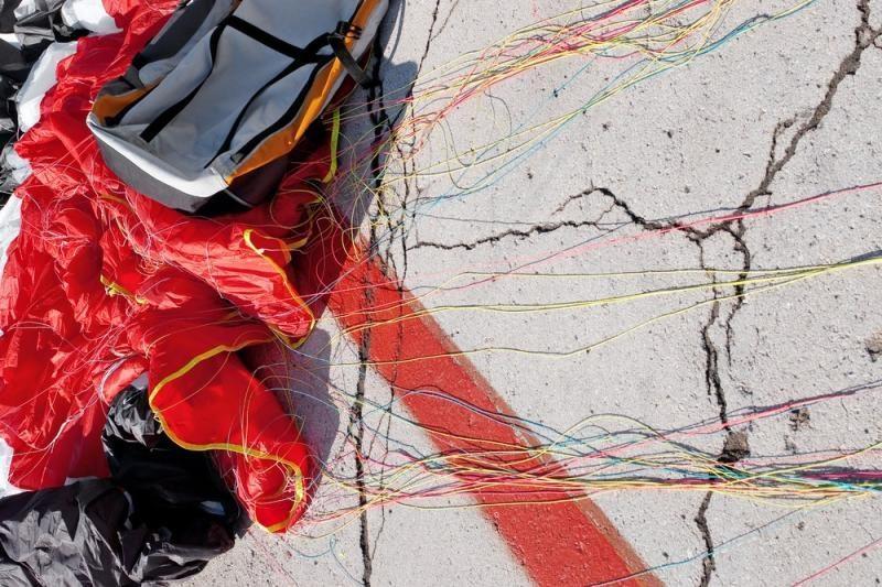 Marijampolėje parašiutininkas dėl sužalojimų paguldytas į reanimaciją