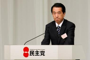 Japonijos premjeras laimėjo partijos rinkimus ir liks valdžioje