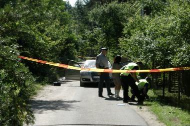 Kauno rajone įvyko susišaudymas, nukentėjo du vyrai