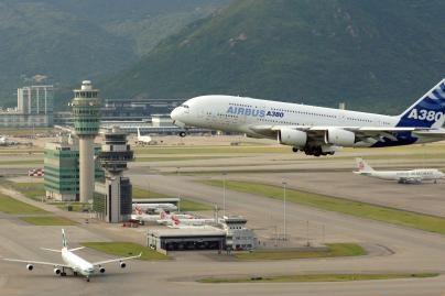 Geriausias pasaulio oro uostas - Hong Kongo