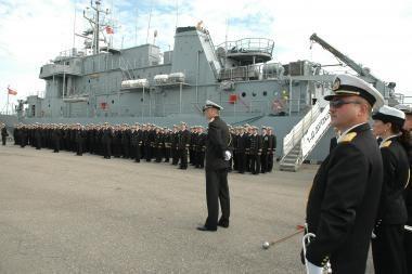 Karinės jūrų pajėgos turės naują vadą