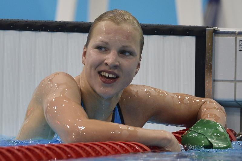 Prezidentė pasveikino jaunąją Lietuvos plaukimo žvaigždę