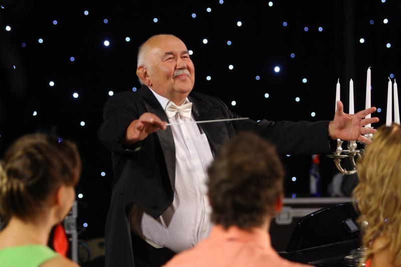 Nacionalinėje filharmonijoje – maestro D. Katkaus jubiliejus
