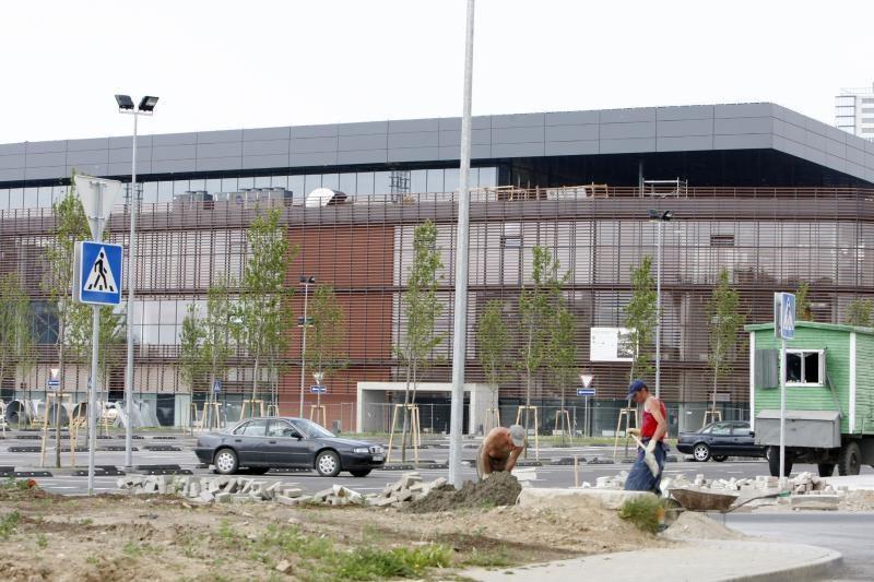 Klaipėdos valdžia griežčiau prižiūrės arenos statybas