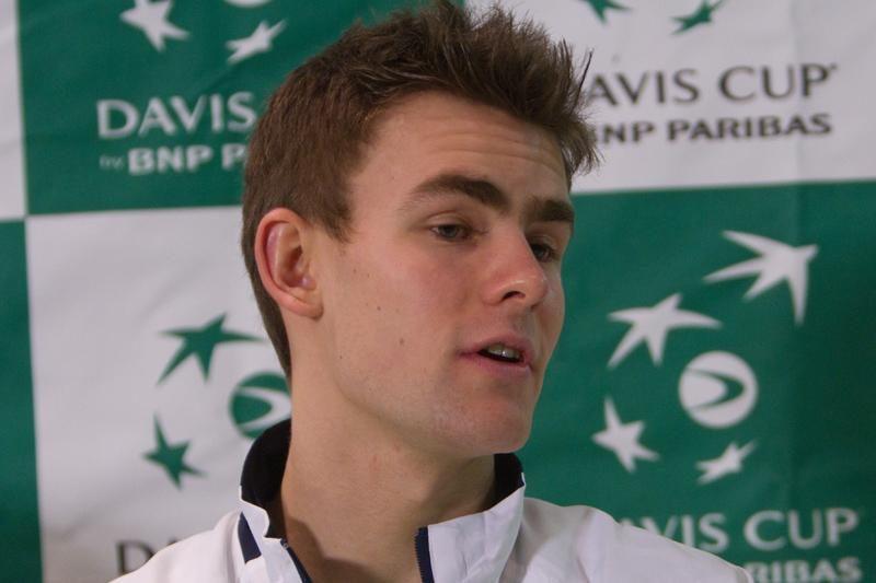 """Lauryno Grigelio nesėkmė ATP """"Challenger Tour"""" serijos ketvirtfinalyje"""