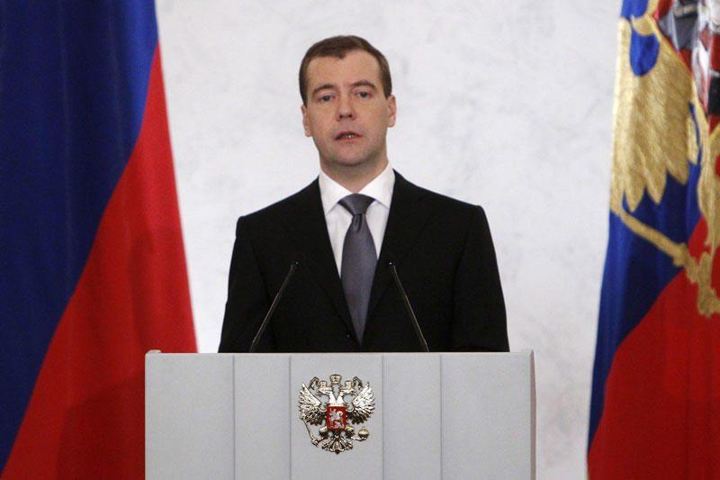 Tbilisis nepatenkintas dėl D.Medvedevo apsilankymo Cchinvalyje