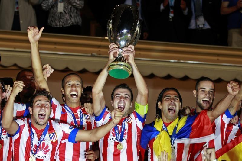 """""""Atletico"""" UEFA supertaurės rungtynėse sutriuškino Londono komandą"""