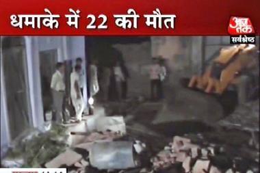Sprogimas fejerverkų fabrike Indijoje baigėsi tragiškai