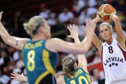 Latvijos krepšininkės neatsilaikė prieš australes