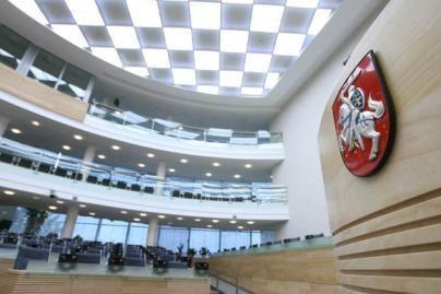 Seimo kanceliarijai - papildomai 5 mln. litų