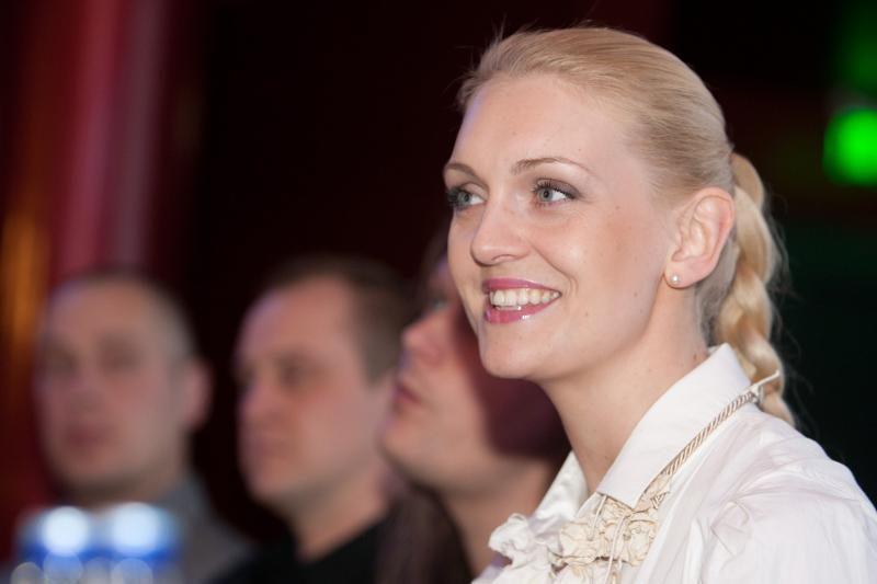 Po susidūrimo su traktoriumi R.Ščiogolevaitė atsidūrė ligoninėje
