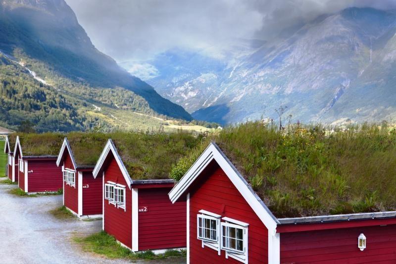Ekologiška architektūra: velėniniai namai - iš žemės ir žolės