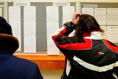 Nedarbas šalyje siekia 14,3 proc. Daugiausia bedarbių – Ignalinos rajone