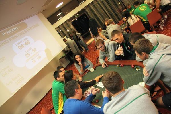 G.Gusto žmona pokerio žaidime nugalėjo visus rinktinės vyrus