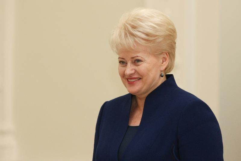 Prezidentė: euro krizė yra toliau nuo Baltijos ir Šiaurės šalių
