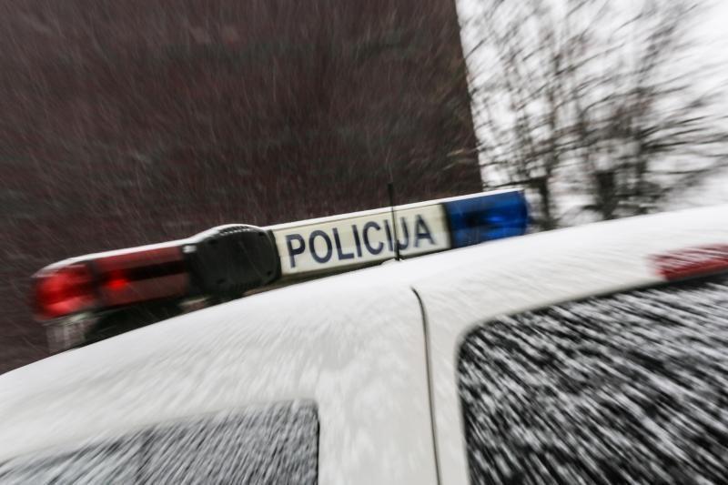 Policininkai nesusikalbėjo su į griovį įvažiavusia girta vairuotoja