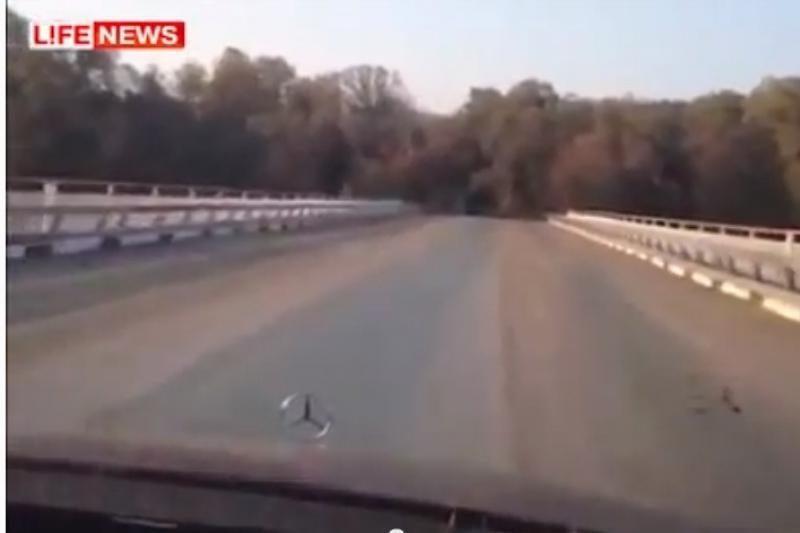 Rusijoje už 600 mln. rublių nutiestas tiltas į niekur