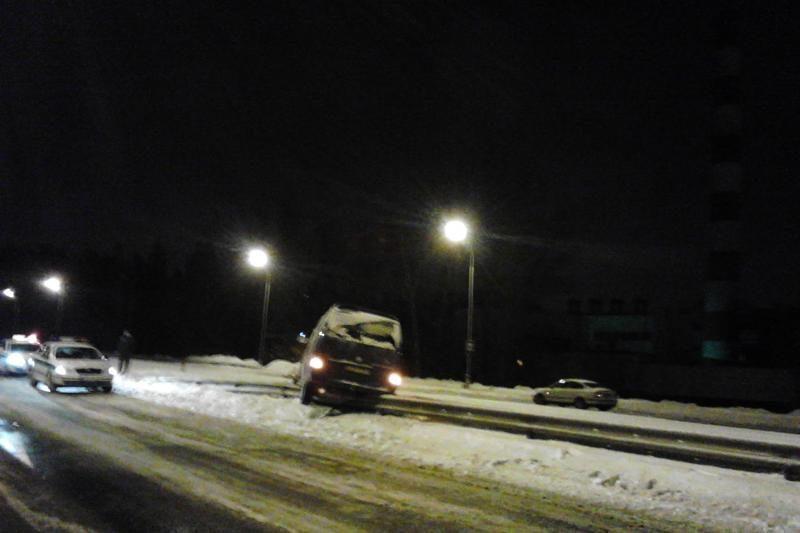 Geležinio Vilko gatvėje vairuotojas vos išvengė didelės nelaimės