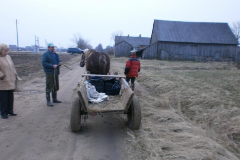 Vežime vežėsi 55 litrus naminės degtinės