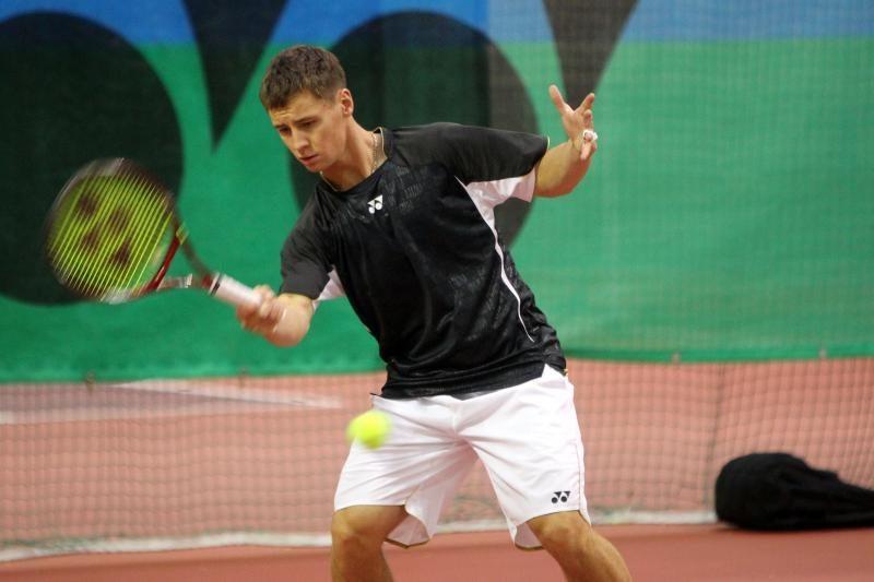 """R.Berankis - tarptautinio """"Slovak Open"""" vyrų teniso turnyro finale"""