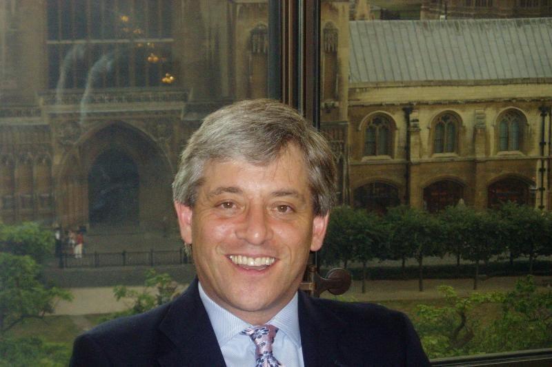 Lietuvoje vieši Jungtinės Karalystės parlamento pirmininkas