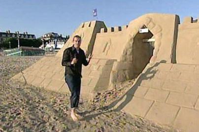 Viešbutyje iš smėlio - nakvynė po žvaigždėmis