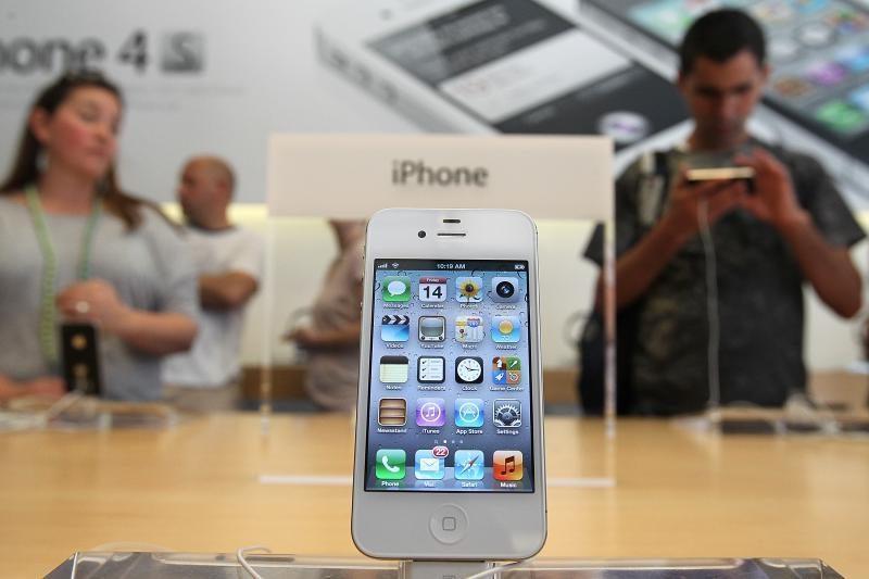 """""""iPhone"""" slaptažodis nulaužtas per 10 sekundžių"""