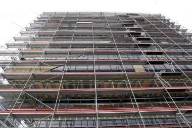 Statybos sąnaudų kainos sumažėjo 2 procentais