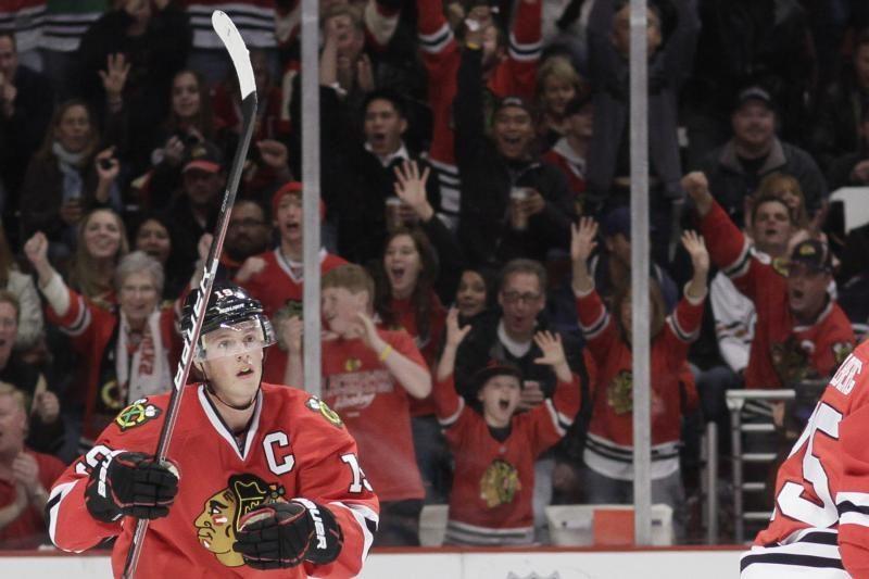 """Blackhawks"" tapo NHL čempionato lyderiu"