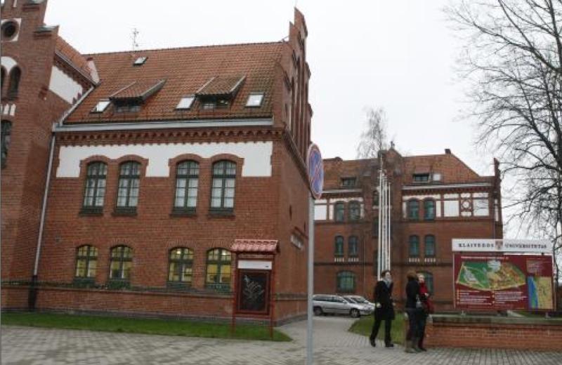 Klaipėdos universitete vykdoma studija