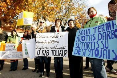 Aukštosiose mokyklose bręsta naujas streikas