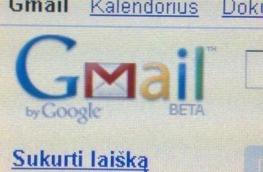 """""""Google"""" paslauga """"Gmail"""" nuo šiol saugesnė"""