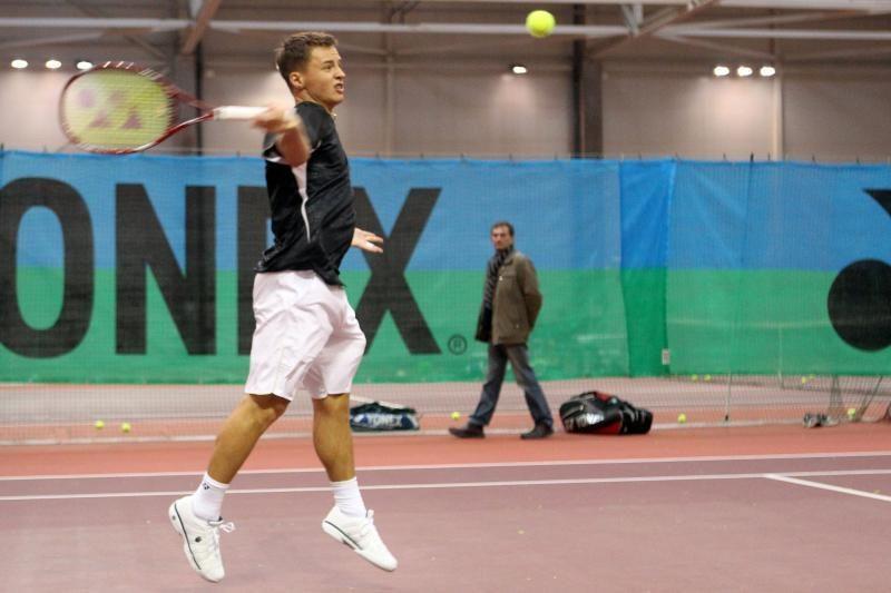 R.Berankis Slovakijoje pateko į turnyro aštuntfinalį
