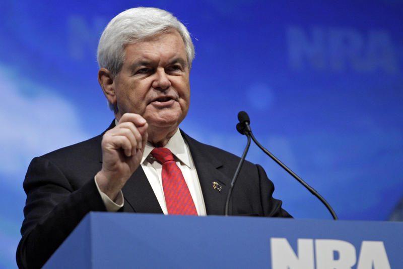 JAV prezidento posto siekiantį N.Gingrichą apžnaibė pingvinas