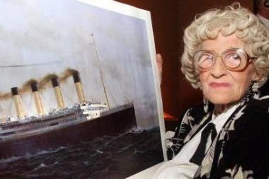 """Norėdama išgyventi """"Titaniko"""