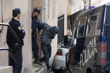 Ispanijoje sulaikyti teroristų talkininkai