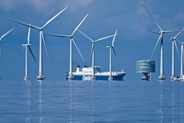 Baltijos jūroje – ketvirtas vėjo jėgainių parkas