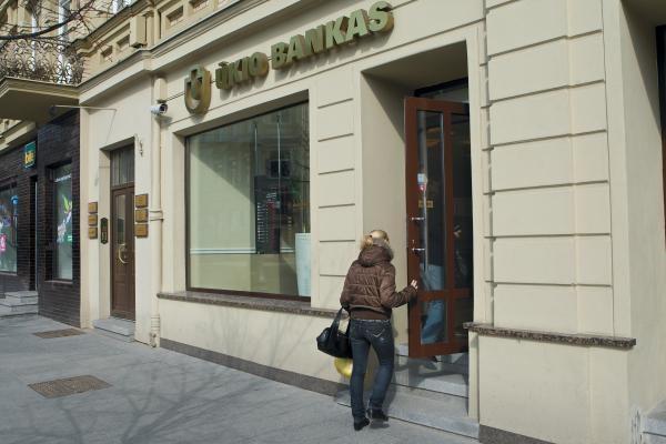 Ūkio banko padalijimas gali lemti ieškinių laviną