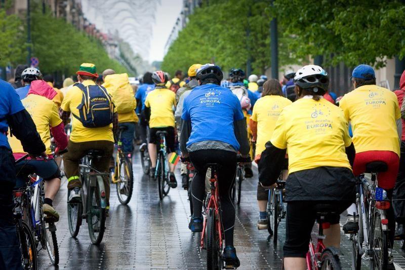 Europos dienai paminėti - tradicinis dviračių žygis